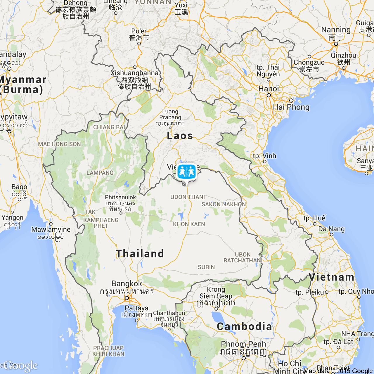 Nong Khai Thailand Map.Nongkhai Sos Barnebyer