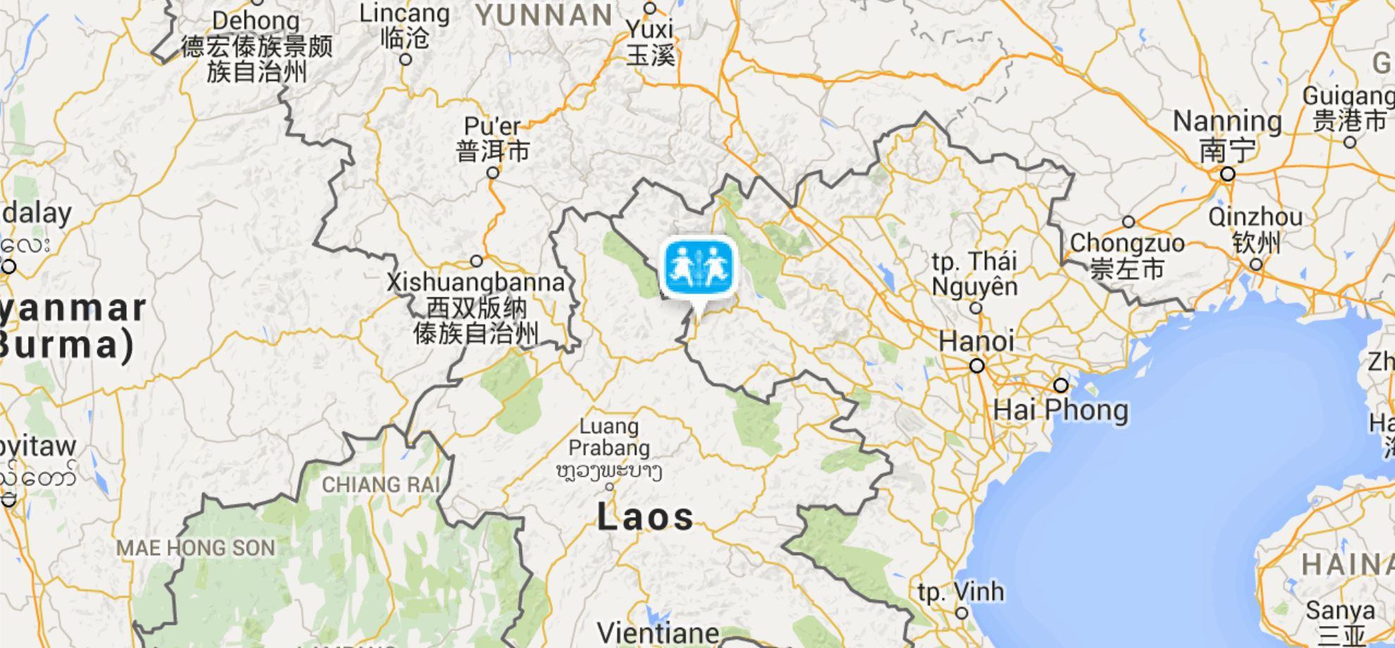 Dien Bien Phu Vietnam Map.Dien Bien Phu Sos Barnebyer